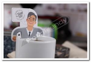 Herbata reklamowa z atrakcyjnym nadrukiem